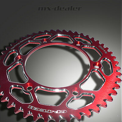 GP-TECH Factory Sprocket Kettenrad rot Suzuki RM RMZ 125 250 450 48 49 51 Z