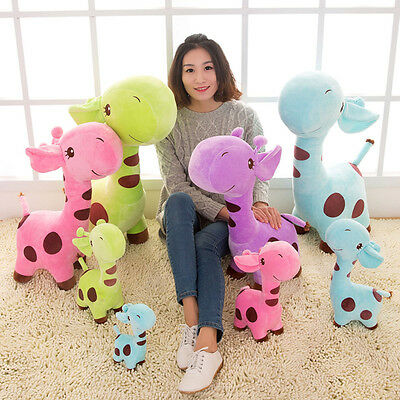 18cm 1PC Cute Plush Giraffe Toys Soft Animal Doll Kawaii Toy  Baby Birthday Gift