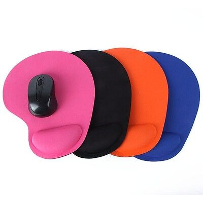 AU Soft Rest Comfort Wrist Support Mat Mouse Mice Pad Gaming PC Computer Laptop
