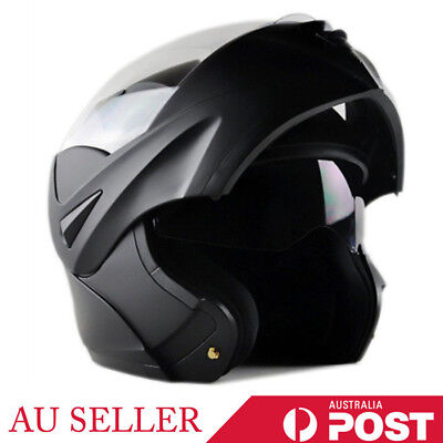 Dual Visor Motorcycle Helmet FULL FACE Open Face Motorcross Road Bike Modular He