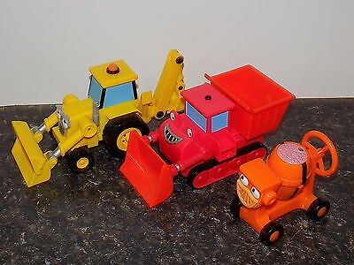 Bob the Builder TALKING mixer  scoop plus  all talking  - Hard to find