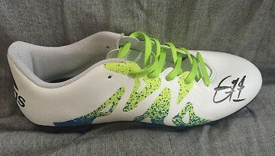 Hand Signed Eric Bailly Football Boot Manchester United Pogba Ibrahimovic Rooney