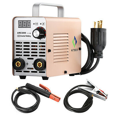MINI Inverter welder portable ARC200 Welding Machine MMA STICK DC 220V