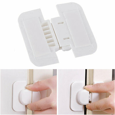 Cabinet Door Drawers Refrigerator Toilet Safety Plastic Lock For Child Kid 4AS