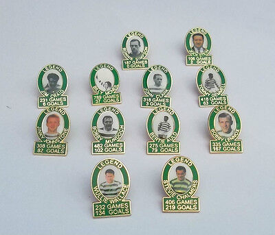 Celtic European Cup Winners 1967 Badge Set