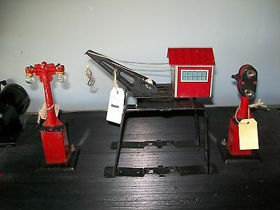 Vintage Marx 3 Piece set O Scale Train Pieces