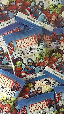 WOOLWORTHS MARVEL HEROES SUPER DISCS x 40 BRAND NEW AND SEALED!!