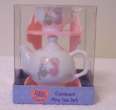 Precious Moments       PORCELAIN MINI TEA SET