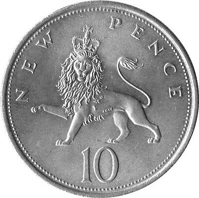 New Pence Old Ten Pence (10P) Select Year From Drop Down Buy 2 Get 1 Free #tt