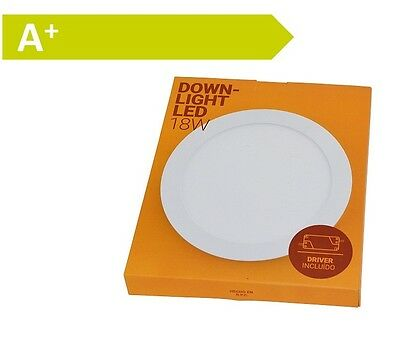 Barcelona B1272–5 Downlight LED flach rund Unterputz 18 W Lampe NEU #R1-5266