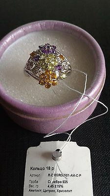 Ring and Earrings Sterling Silver 925 Jewellery Set