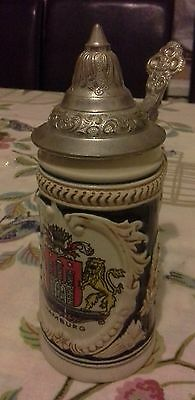 1 german stein beer glass