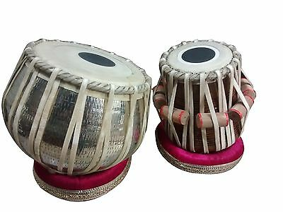 Professional Tabala Set Heavy Dugga Sheesam Tabla Fibre Case Indian Instrument