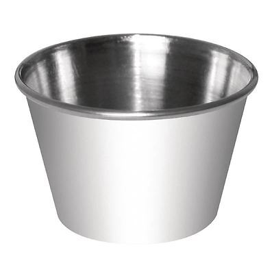 12 X Dipping Pot Stainless Steel Serving Sauce Dish Restaurant Tableware