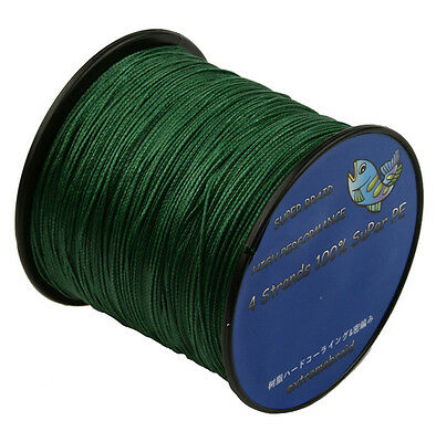 2017 Deep Green Dyneema Multifilament Spectra Braided 4 Strands Sea Fishing Line