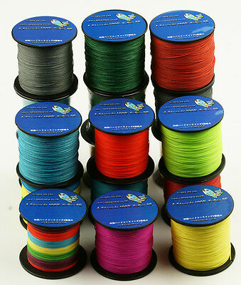 100M 100% PE Dyneema Multifilament Spectra Braided 4 Strands Sea Fishing Line