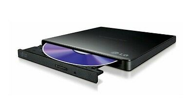LG GP57EB40 External Ultra Slim Dvd Writer in Black