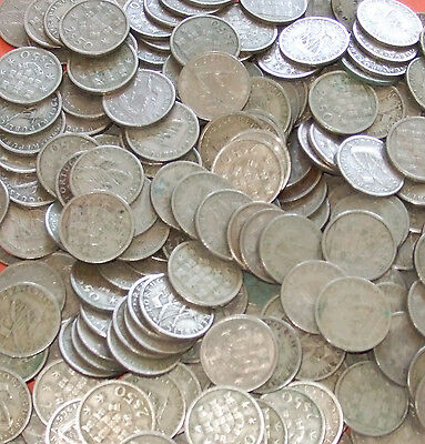 Portugal - Bulk lot of 100x 2 1/2 Escudo coins Dated 1963-1969