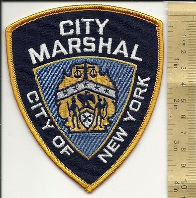 Nyc City Marshal Law Enforcement Civil Appointed Officer Federal New York Patch