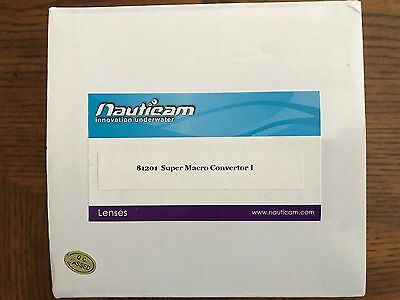 "Nauticam ""wet Lens"" - Super Macro Convertor I #81201 - With Box"