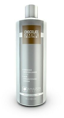 Amazon Keratin Alisado Brasileño Chocolate Keratin 473 ml