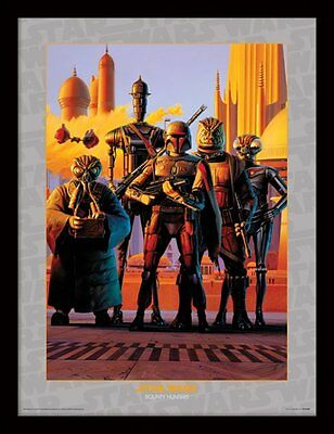 Star Wars - Bounty Hunters - 30 x 40cm Framed Poster Print FP11368P