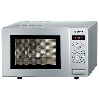 Bosch HMT75G451B 17L Freestanding Microwave & Grill in Stainless Steel | 800W