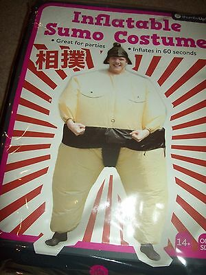 Costume Boys *inflatable Sumo Costume* One Size Fits Most For Ages 14 And Up