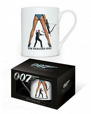 James Bond - For Your Eyes Only - Roger Moore - Bone China Coffee Mug MGBC23249