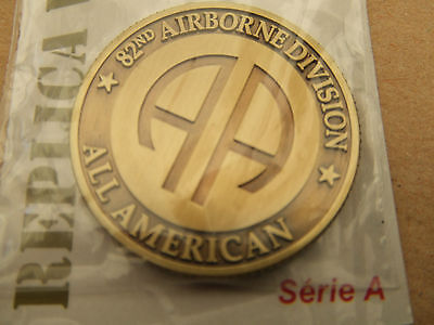 Coin Medaille 82 Airborne Us D-Day N°2