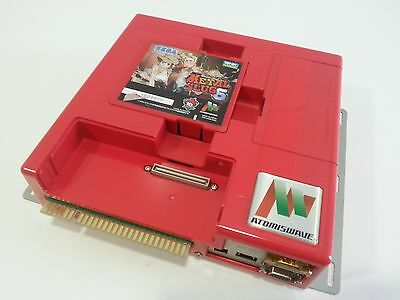 sammy atomiswave + metal slug 6 boot pcb recreativa  sega jamma arcade coin-op
