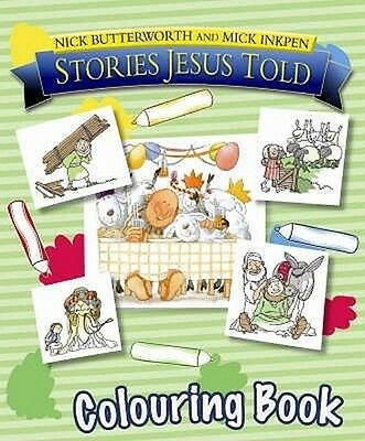 Stories Jesus Told Colouring Book by Nick Butterworth Paperback Book
