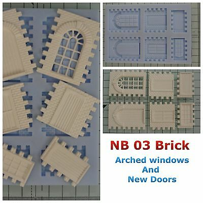 Linka Compatible NB03 Brick Faced Mould New Windows Design And New Door