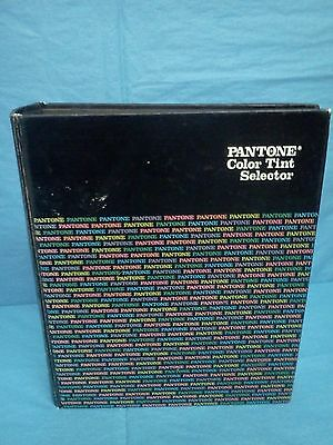 Pantone Library Of COLOR TINT SELECTOR Original 1980 INSIDE PERFECT COMPLETE