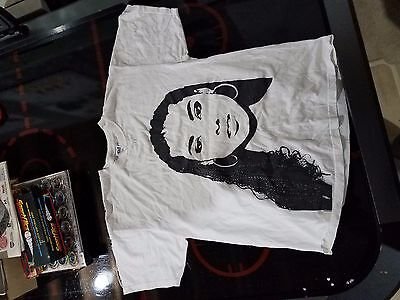 Alicia Keys tour 2004 shirt mens XL very rare white concert shirt