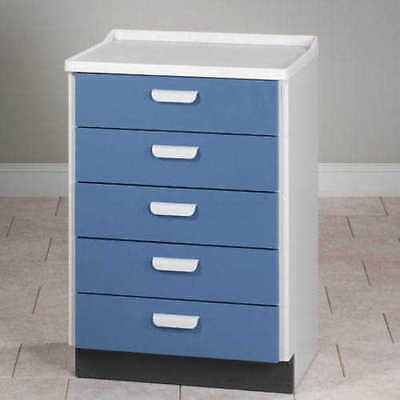 Clinton 5 Drawer Treatment Cabinet Model 8805-1MP        (HO)