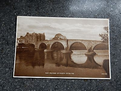Early postcard - Old Bridge of Forth - Stirling - Scotland