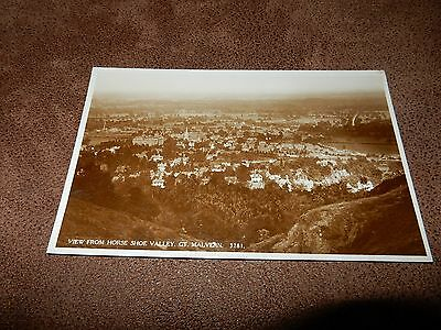 Early Real Photo Postcard -Nice view Great Malvern  Worcestershire