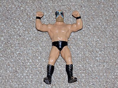 1989 WWF LJN Wrestling Superstars Black Card Series Warlord Figure Canadian