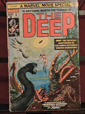 Marvel Movie Special #1 The Deep (1977, Marvel)