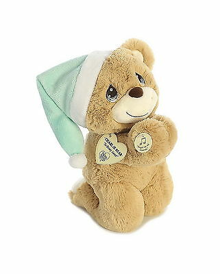 Precious Moments Charlie Bear Spanish Praying Bear - Prays Ángel de mi Guarda