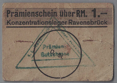 Wwii 1939 Germany Kl Ravensbruck 1.- Rm. Rrr Woman Concentration Camp Holocaust