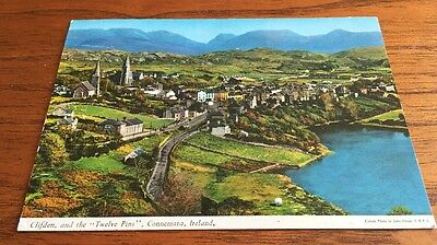 "Clifton and the ""The Twelve Pins"" - Connemara - Postcard - Posted"