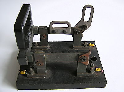 Vintage Barkelew Knife Switch Double Pole Heavy Electrical Panel