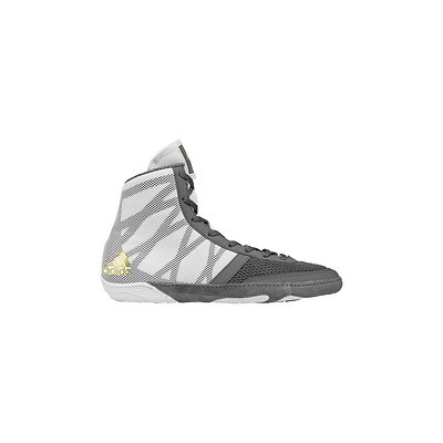Adidas Pretereo III Boxing Boots Wrestling - Grey Gold Mens Shoes Trainers