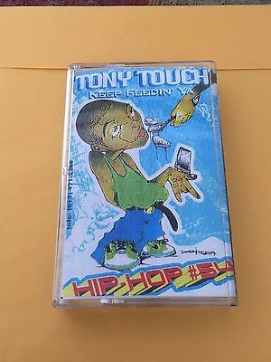 DJ Tony Touch Tape #54 Keep Feedin Ya NYC 90s Hip Hop Mixtape Cassette