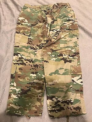 USGI Multicam ACU Unisex Insect Repellent Pants Trousers Size Large-X-Short