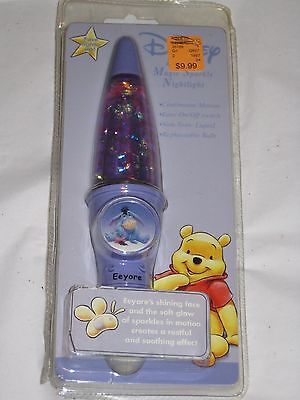 Vintage EEYORE Magic Sparkle Night Light NIP