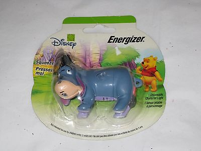 Vintage EEYORE ENERGIZER Disposable Character Light  - NIP