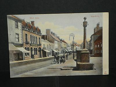 Nottinghamshire - West Gate Mansfield - 1906